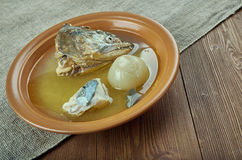 Scandinavian fish soup Royalty Free Stock Photos