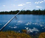 Scandinavian fishing Royalty Free Stock Photos