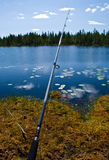 Scandinavian fishing Stock Photo