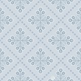 Scandinavian floral background, mid century wallpaper, seamless pattern,. Scandinavian floral background, mid century wallpaper, seamless pattern. Vector Stock Illustration