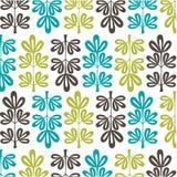 Scandinavian floral pattern Stock Image