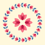 Scandinavian flowers Stock Photo