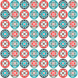 Scandinavian geometric pattern Royalty Free Stock Photography