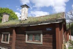 Scandinavian house Royalty Free Stock Image