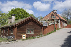 Scandinavian house Royalty Free Stock Photo