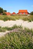 Scandinavian house, Snogebaek, Bornholm, Denmark Stock Images