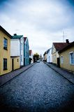 Scandinavian Houses Royalty Free Stock Images