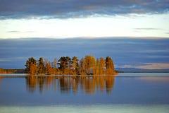 Scandinavian island Stock Image