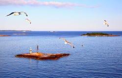 Scandinavian landscape - Finland Stock Photography