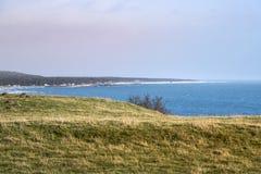 Scandinavian landscape in Skane royalty free stock photo