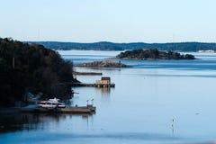 Scandinavian landscape Stock Image