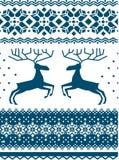 Scandinavian ornament Stock Photos