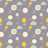 Scandinavian pattern for kids Royalty Free Stock Images