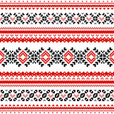 Scandinavian pattern Royalty Free Stock Photos