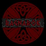 Scandinavian pattern - Ragnarok. Illustration of Norse mythology. Isolated on white, vector illustration Stock Image