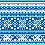 Scandinavian pattern seamless Stock Photography