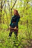 Scandinavian redhead woman Stock Image