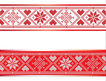 Scandinavian Ribbon Stock Images