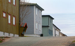 Scandinavian rural architecture Royalty Free Stock Images