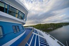 Scandinavian sea view royalty free stock photos