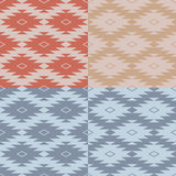 Scandinavian seamless pattern. Abstract winter background. Vector illustration Stock Photo