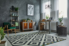 Scandinavian style in apartment