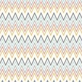 Scandinavian style art with chevron pattern Stock Images