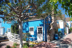 Scandinavian style house. At marina del rey, L.A royalty free stock images
