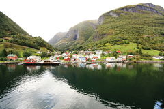 Scandinavian town Stock Photo