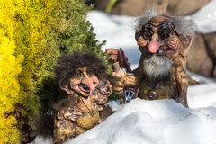 Scandinavian Trolls. Royalty Free Stock Photography