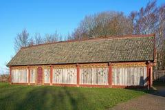 Scandinavian Viking House Stock Image