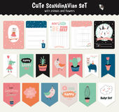 Scandinavian Weekly and Daily Planner Stock Photo