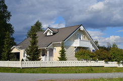Modern country house Stock Photography