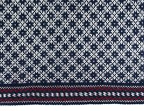 Scandinavian wool sweater pattern, texture Royalty Free Stock Photos