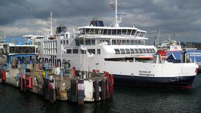 Scandlines Passenger Ferry. Ferry that crosses the water between Denmark and Sweden Royalty Free Stock Photos