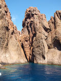 Scandola cliffs Stock Photo