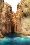 scandola de réserve de la Corse France Photo libre de droits