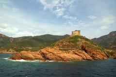 scandola de réserve de la Corse France Images libres de droits