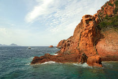 Scandola reserve (Corsica- France) Stock Photography