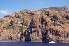 Scandola rocks Royalty Free Stock Photo