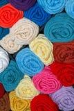 Scanes coloré de fil Image libre de droits