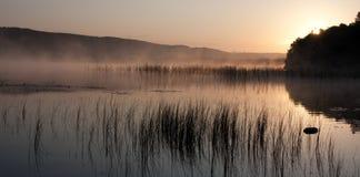 scania озера стоковая фотография rf