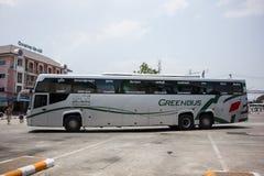 Scania autobus de 15 mètres de société de Greenbus Images stock
