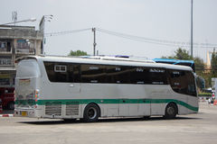 Scania Bus of Greenbus Company. Route Between Maesai and Maesot. Royalty Free Stock Photography