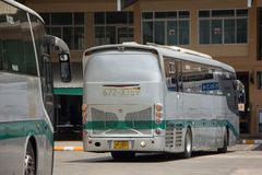 Scania Bus of Greenbus Company. Route Between Maesai and Maesot. CHIANG MAI, THAILAND -MAY 1 2017:  Scania Bus of Greenbus Company. Route Between Maesai and Stock Photo