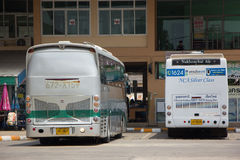 Scania Bus of Greenbus Company. Route Between Maesai and Maesot. Stock Photography