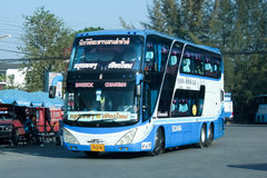 Scania Bus of Newviriya Yarnyon tour bus Company no.18-6. Royalty Free Stock Photos