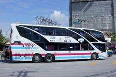 Scania bus of Sombattour company Royalty Free Stock Photo