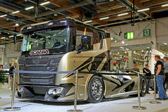 Scania Chimera Show Truck of Swempas on Display Stock Photos