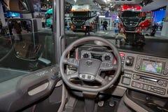 Scania ciężarówki wnętrze Zdjęcia Royalty Free